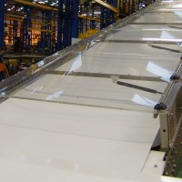 Covered Dough Feed Conveyor