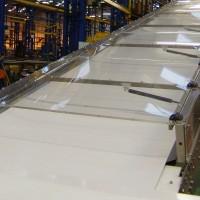 Covered Dough Feed Conveyor