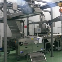 Rotary Moulder integrated in Cutting Machine